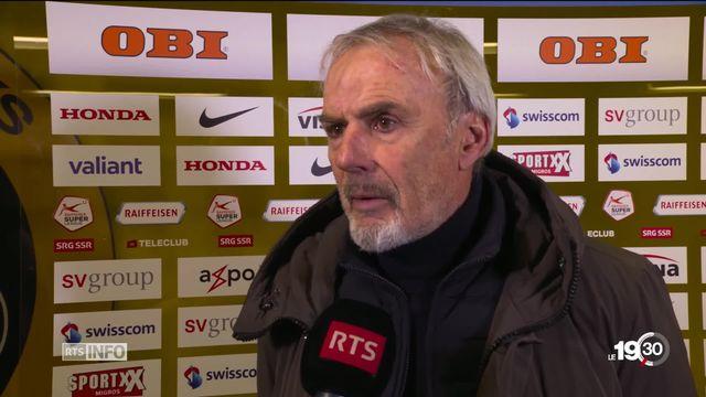 Michel Descastel, l'entraîneur de Neuchâtel Xamax, est licencié. [RTS]