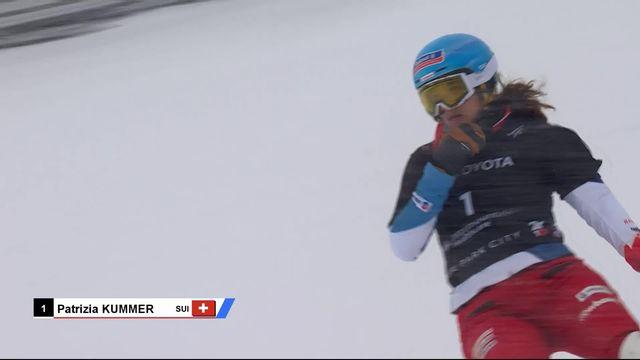 Park City (USA), snowboard géant parallèle dames: Patrizia Kummer passe face à Ladina Jenny en 1-8e dans un duel 100% suisse [RTS]