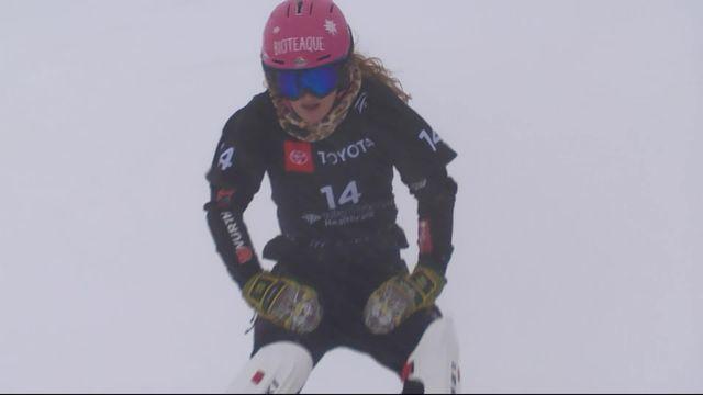 Park City (USA), snowboard slalom parallèle dames: pas de 1-4 pour Nicole Baumgartner (SUI) [RTS]