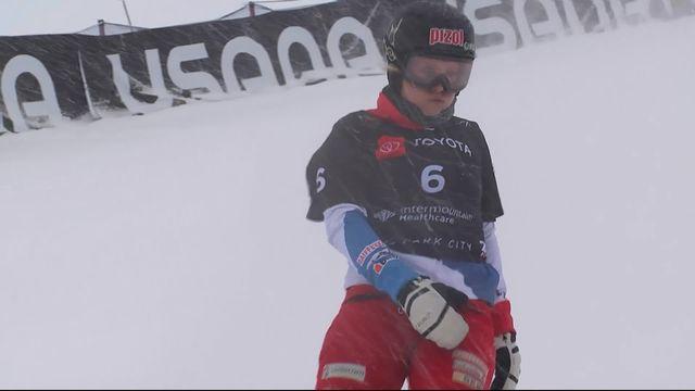 Park City (USA), snowboard slalom parallèle dames: Julie Zogg élimine Patrizia Kummer dans ce 1-4 entre Suissesses [RTS]
