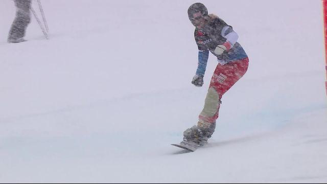 Park City (USA), snowboard slalom parallèle dames: médaille d'or pour Julie Zogg (SUI)! [RTS]