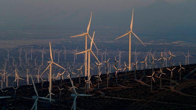 Pour le WWF, les caisses de pension devraient davantage s'intéresser aux énergies renouvelables. [PAUL BUCK - KEYSTONE]