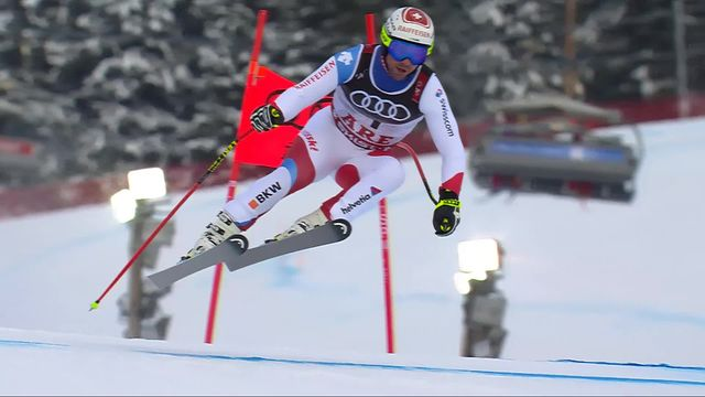 Are (SWE), Super G messieurs: Beat Feuz (SUI) [RTS]