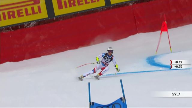 Are (SWE), Super G messieurs: Marco Odermatt (SUI) [RTS]