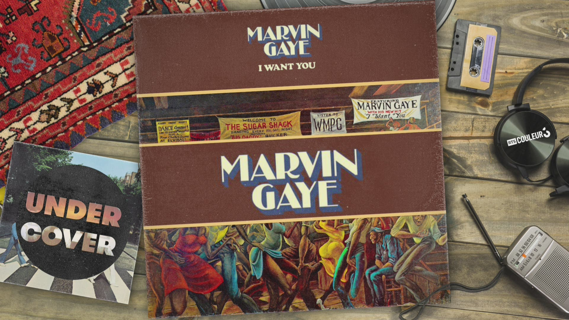 "Undercover Marvin Gaye ""I want you"""