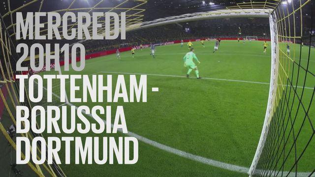Bande-annonce: Football UEFA Champions League Tottenham Hotspur - Borussia Dortmund du 13.02.2019 [RTS]