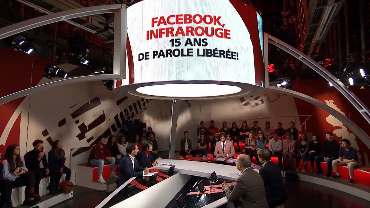 Facebook, Infrarouge: 15 ans de parole libérée! [RTS]