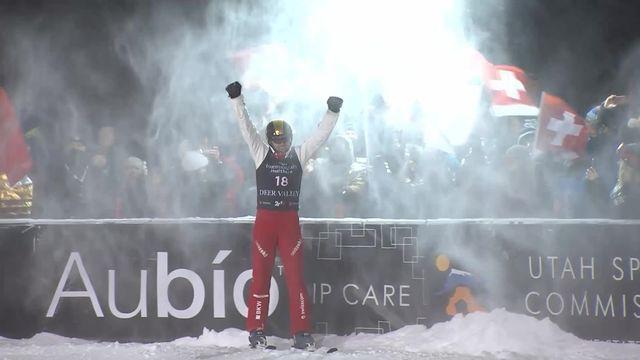 Mondiaux ski freestyle, aerials : le Zougois Noé Roth décroche le bronze [RTS]