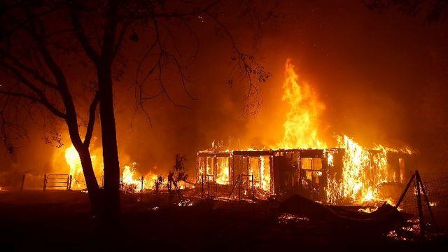 Les gigantesques feux de forêt dans l'Ouest américain en automne 2018 ont notamment fait des ravages. [Justin Sullivan - AFP/Getty Images North America]