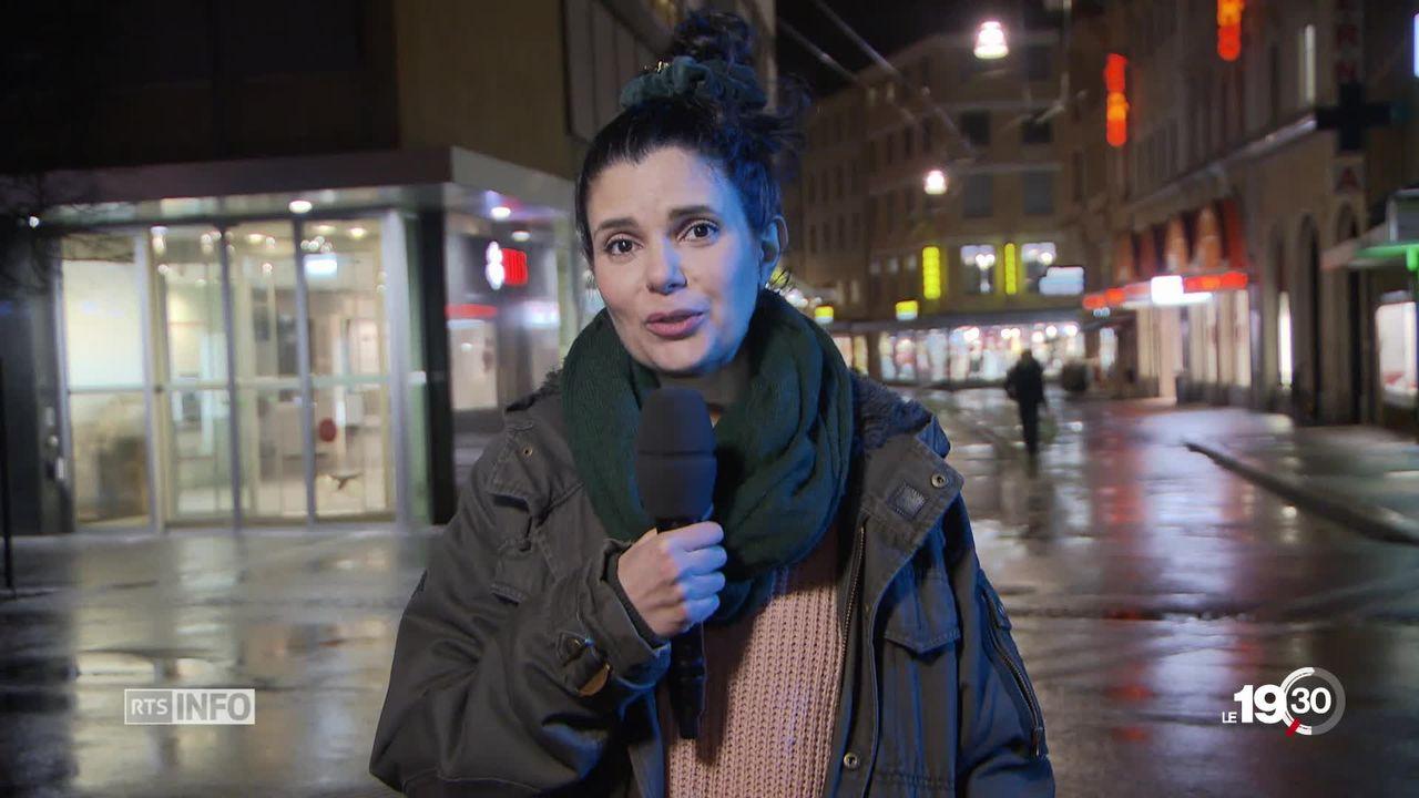 """Leila Rölli, fondatrice """"En Vert et Contre Tout"""", """"L'idée est de soutenir les artisans, découvrir un autre mode de consommation"""" [RTS]"""