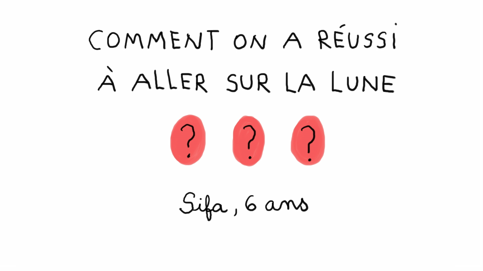 Comment on a réussi à aller sur la Lune? 1 jour 1 question.