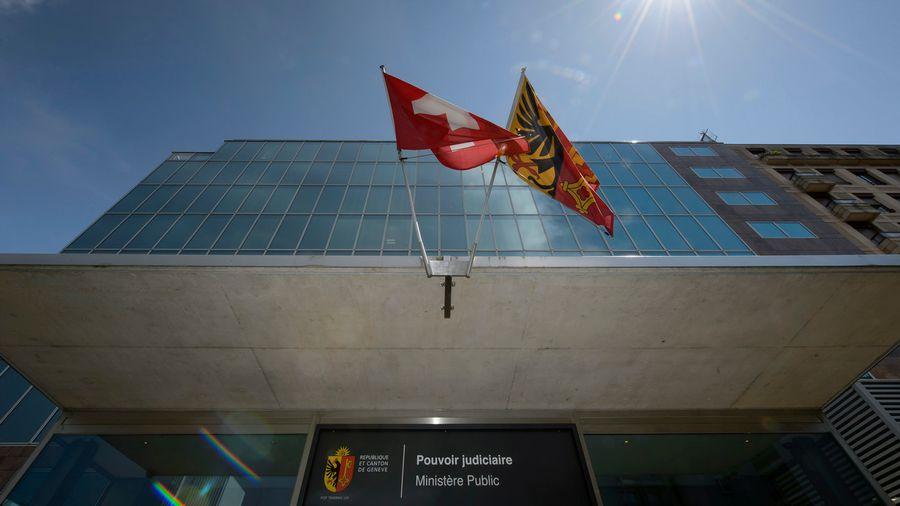 Le bâtiment du Ministère public genevois.