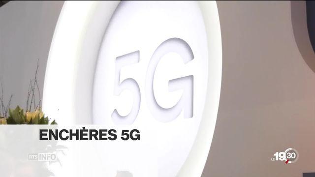L'arrivée de la 5G en Suisse. Aujourd'hui c'est du concret. Nos explications [RTS]