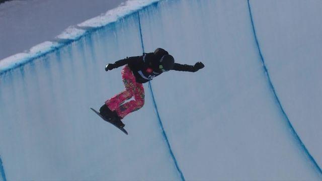 Park City (USA), snowboard halfpipe dames: Verena Rohrer (SUI) [RTS]