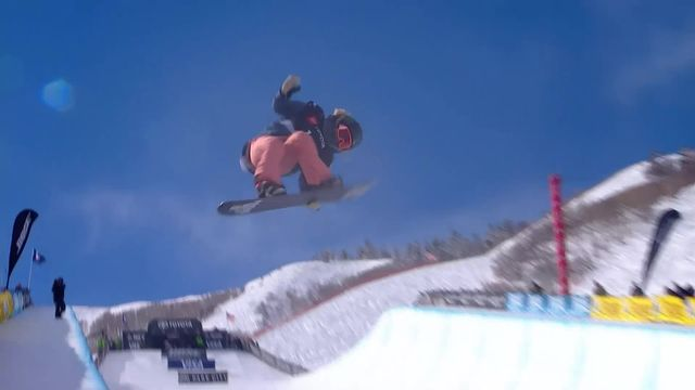 Park City (USA), snowboard halfpipe dames: Chloe Kim (USA) remporte l'or [RTS]