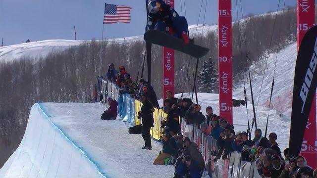 Park City (USA), snowboard halfpipe messieurs: l'or pour Scotty James (AUS) avec un run 97.50! [RTS]