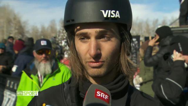Half-pipe: Patrick Burgener décroche une 7e médaille pour la délégation Suisse [RTS]