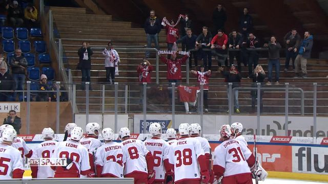 National League, 27e journée: Davos - Lausanne (1-3) [RTS]