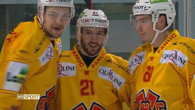 National League, 27e journée: Rapperswil - Bienne (2-6) [RTS]