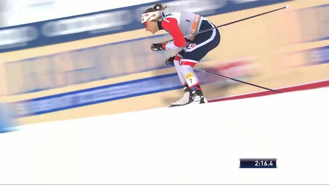 Lahti (FIN), sprint dames: la victoire pour Maiken Falla (NOR) [RTS]