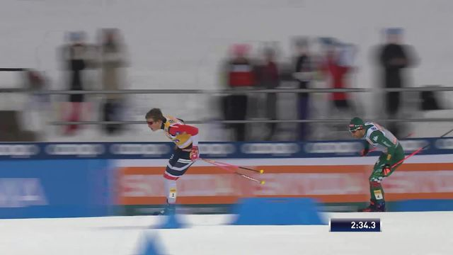 Lahti (FIN), sprint messieurs: Johannes Klaebo (NOR) s'impose [RTS]