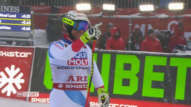 Ski, Championnats du monde d'Are : la descente messieurs qui a eu lieue malgré de mauvaises conditions [RTS]