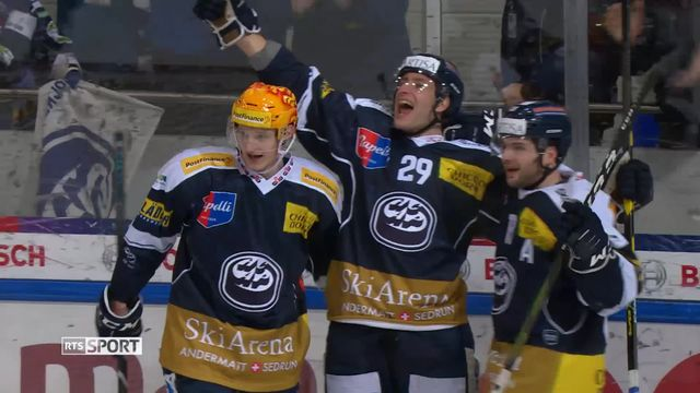National League, 28e journée : Ambri - Genève (1-0) ap [RTS]