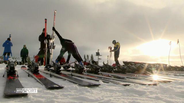 Trouver le meilleur ski: Didier Défago explique le rôle de la Testing Team [RTS]