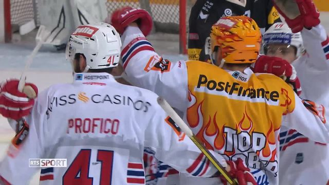 Hockey, National League, 28e journée: Fribourg - Rapperswil (1-4) [RTS]