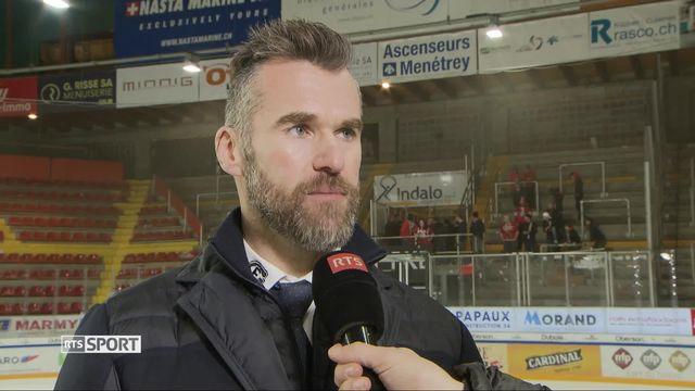 Hockey, National League: Interview de Christian Dubé, directeur sportif de Fribourg [RTS]