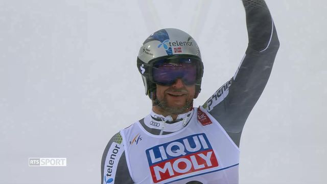 Ski alpin: Svindal sort par la grande porte [RTS]