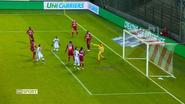 Football, Super League, 20e journée: Sion - Lugano (2-2) [RTS]