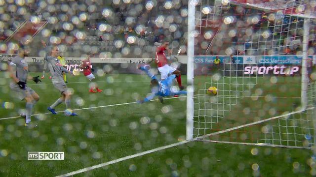 Football, Super League, 20e journée: Thoune - Young Boys (1-1) [RTS]
