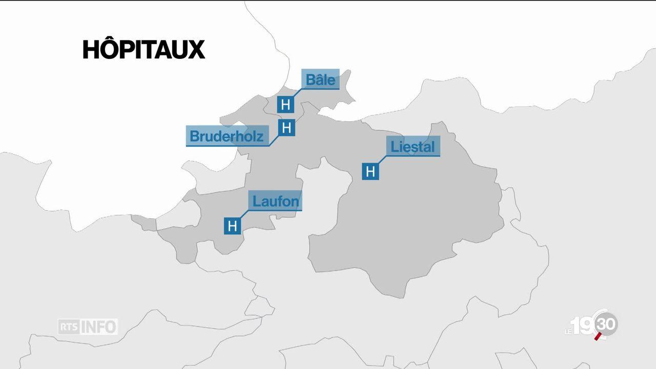 La fusion des hôpitaux publics ne passe pas la rampe à Bâle [RTS]