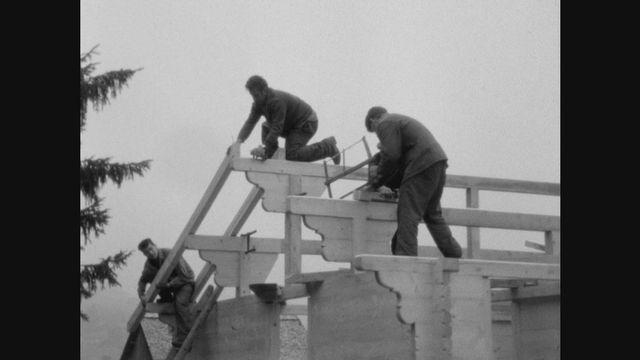 Charpentiers constructeurs de chalets [RTS]