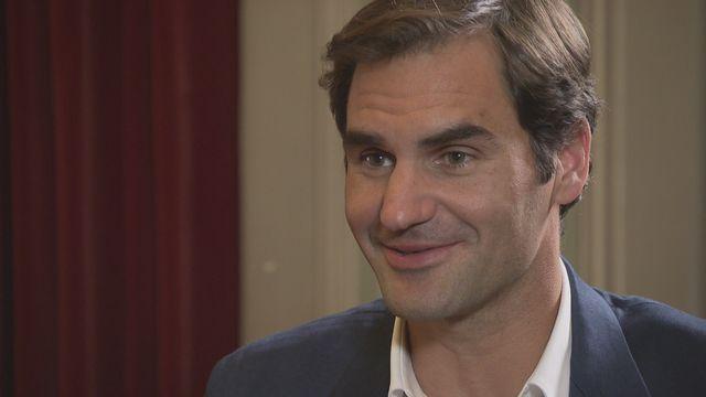 """Roger Federer: """"Redevenir numéro un est quasiment impossible"""" [RTS]"""