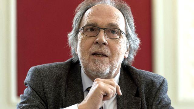 L'ancien procureur et conseiller au Etats Dick Marty. [Lukas Lehmann - Keystone]
