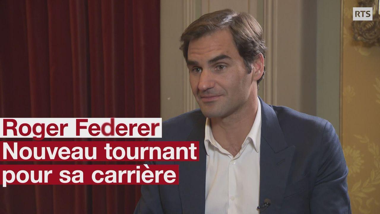 Roger Federer nouveau tournant pour sa carriere [RTS]