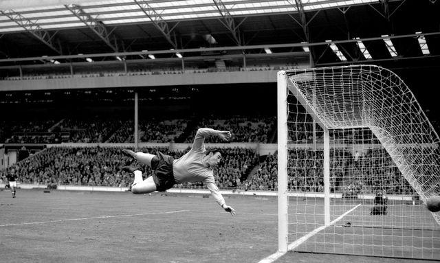 Gordon Banks, gardien mythique de l'équipe d'Angleterre victorieuse de la Coupe du Monde 1966. [PA via AP/Keystone]