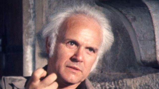 Le chef de choeur et d'orchestre Michel Corbozen 1982. [RTS]