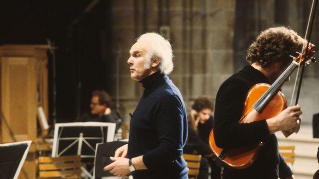 Michel Corboz en 1982. [RTS]