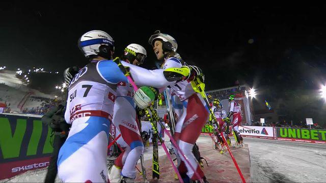Are (SWE), Team Event, finale: Médaille d'or pour la Suisse qui bat l'Autriche en finale [RTS]