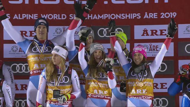 Team Event: la Suisse médaillée d'or! [RTS]