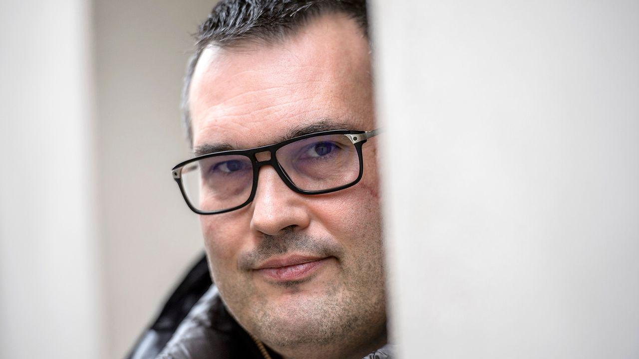 Sébastien Fanti, préposé cantonal valaisan à la protection des données. [Olivier Maire - Keystone]