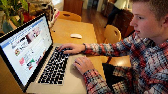 Les jeunes, premières victimes du cyberharcèlement. [Nam Y. Huh - AP Photo]