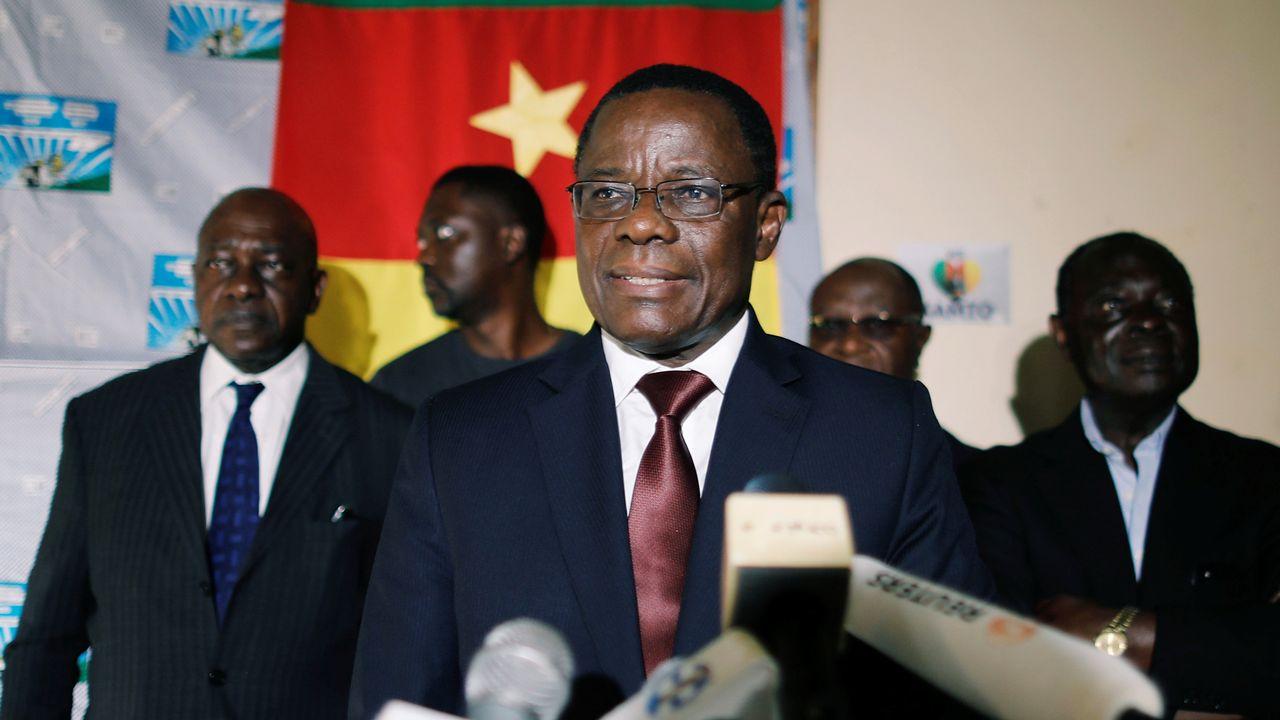 """Maurice Kamto est inculpé pour """"rébellion, insurrection"""" et """"hostilité contre la patrie"""" [Zohra Bensemra - Reuters]"""