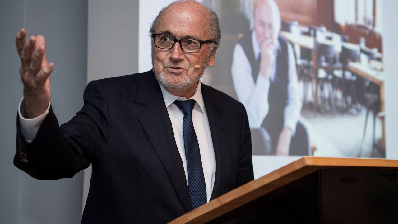 Sepp Blater ancien président de la FIFA. [Peter Schneider - Keystone]
