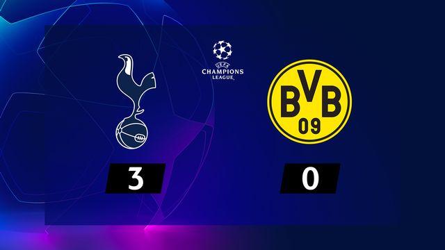 1-8e aller, Tottenham - B. Dortmund (3-0): le résumé de la rencontre