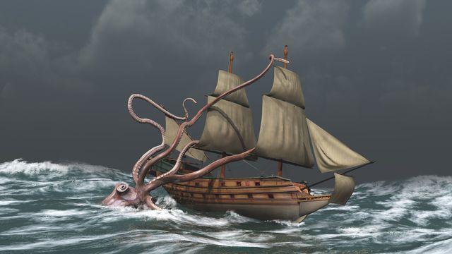 Le kraken, un calamar de légende pas si légendaire que ça. estebande Depositphotos [estebande - Depositphotos]