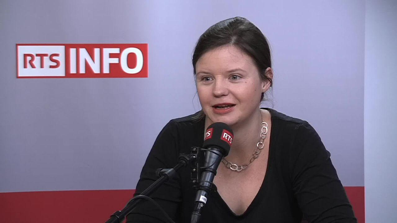 L'invitée de La Matinale (vidéo) - Alice Genoud, conseillère municipale à Lausanne [RTS]